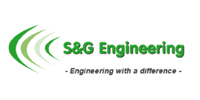 Logo des Windkraftanlagenentwicklers S&G Engineering GmbH