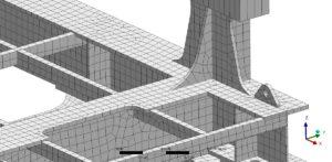Finite-Elemente-Methode (FEM) - Erstellung des FE-Netzes - Beispiel-Vernetzung