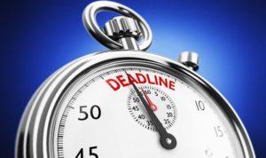 Zeitmanagement - Dauer der Bearbeitung
